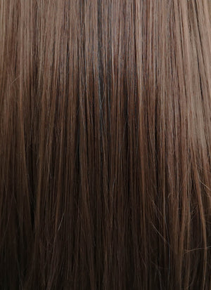 "Brunette Straight 13"" x 6"" Lace Top Synthetic Wig LFK5508"