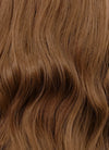 Brown Wavy Lace Front Synthetic Wig LN6017