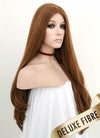 Light Chestnut Brown Wavy Lace Front Synthetic Wig LNK004