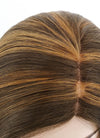 Mixed Brown Mono Parted Glueless Lace Wig MP011