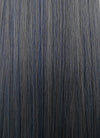 Ash Blue Straight Synthetic Wig NS191