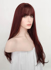 Dark Red Straight Synthetic Wig NS211