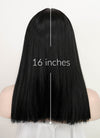Black Straight Synthetic Wig NS215