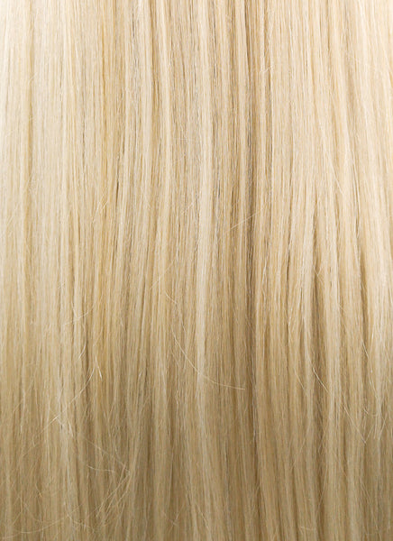 "24"" Long Straight Mixed Blonde Fashion Synthetic Hair Wig NW007"
