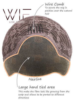 Pastel Pink Straight Lace Front Synthetic Wig LW857