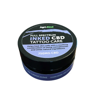 Inked CBD Tattoo Skin Aftercare Balm