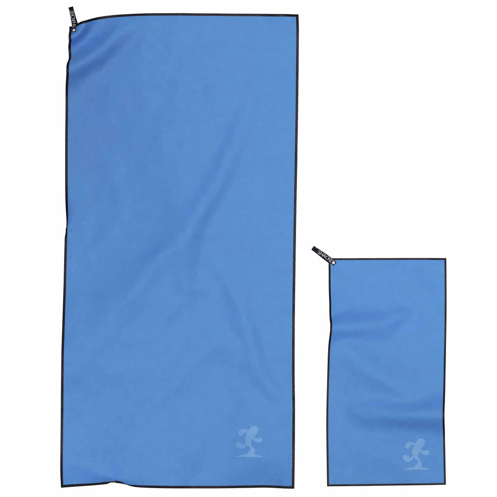 Shacke Fast Drying Towel For Travel, Beach, Bath, Gym, Camping (2 Set - 1 XL/1 Small)
