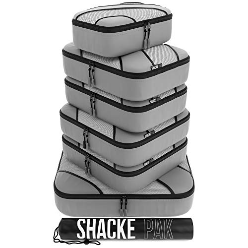 Shacke Adventurer 7pcs Packing Cube - Travel Luggage packing Organizers