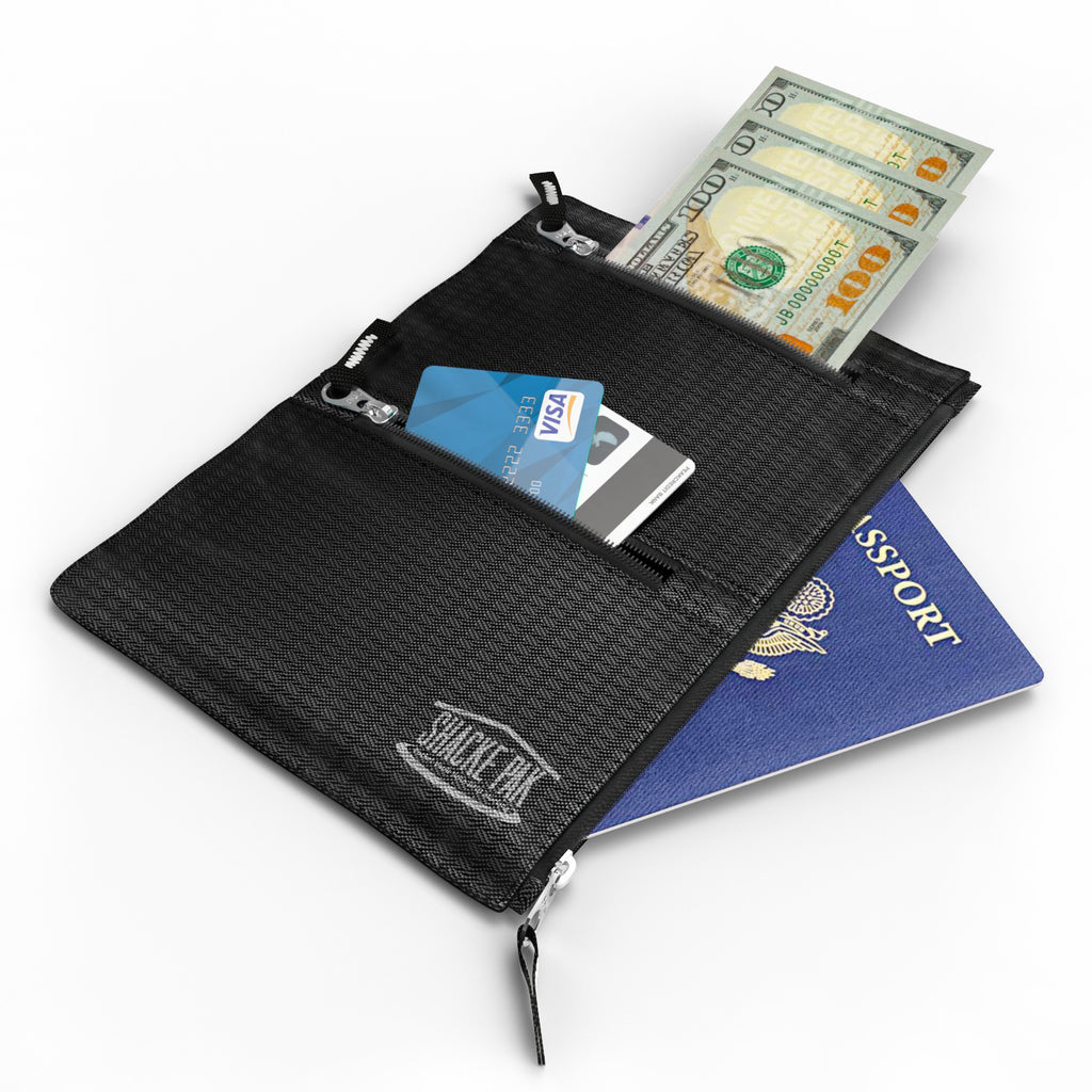 Pocket Vault - Hidden Travel Belt Wallet w/ RFID Blocker