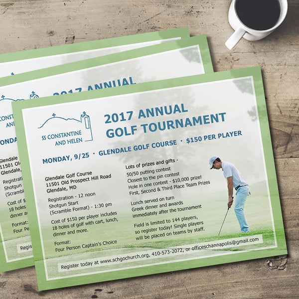 Annual Golf Tournament