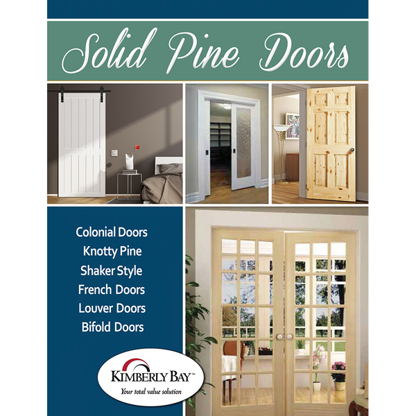 Kimberly Bay Solid Pine Doors