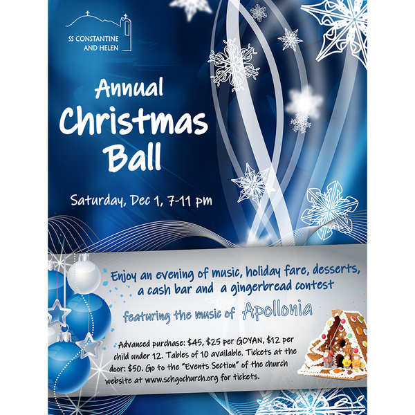 Annual Christmas Ball 2018