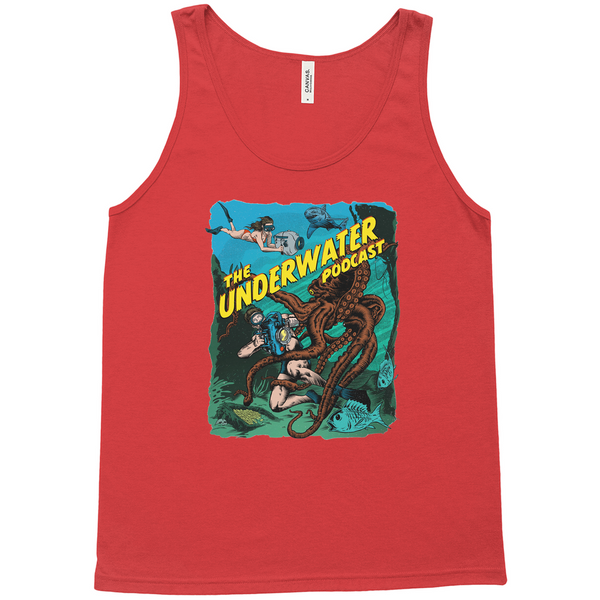 The Underwater Podcast Tank Tops