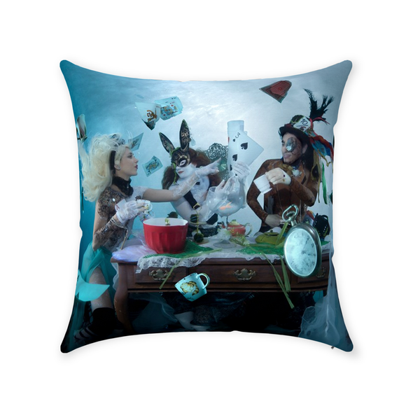 The Tea Party - Throw Pillow