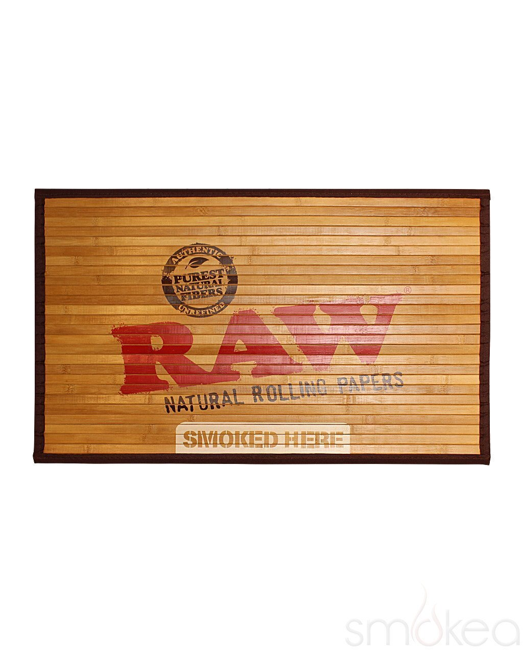 Raw Natural Bamboo Door Mat