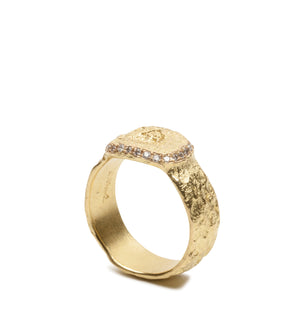 750 Gold Ring mit Brillanten