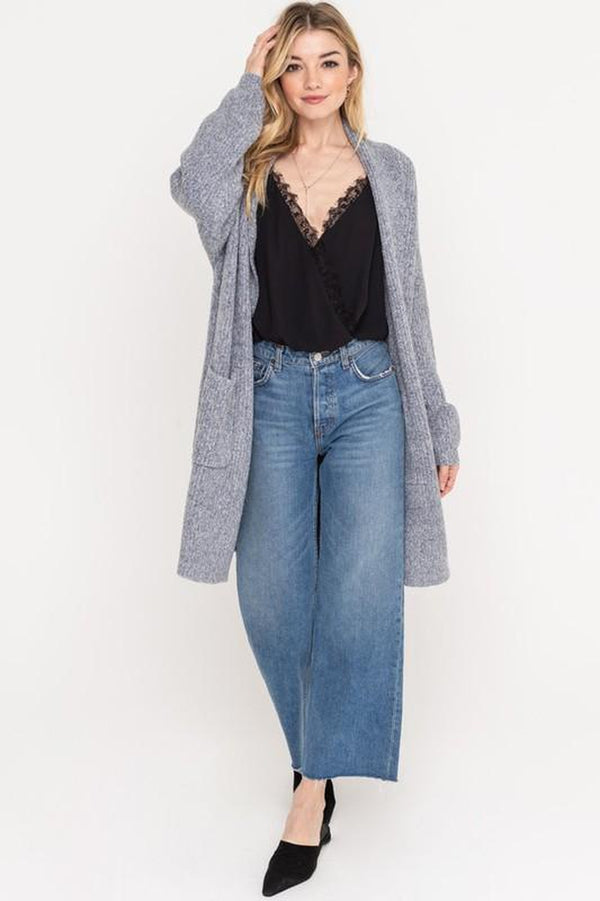 Shawl Knit Cardigan Jacket