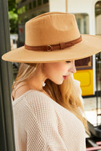 Load image into Gallery viewer, Butterscotch Wide Brim Dandy Panama Hat