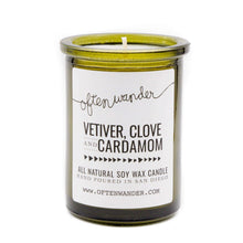 Load image into Gallery viewer, Often Wander - Apothec Candle - Vetiver, Clove and Cardamom 6oz.