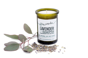 Often Wander - Apothec Candle - Lavender and Eucalyptus 6 oz