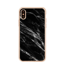 Load image into Gallery viewer, The Casery - Black Marble iPhone Case