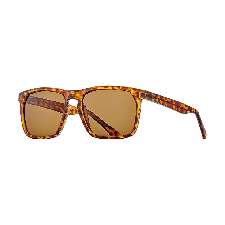 Blue Planet Eco-Eyewear - Randall - Honey Tortoise / Brown Polarized Lens