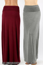 Load image into Gallery viewer, Relaxed Fit Maxi Skirt