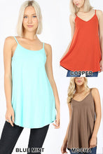 Load image into Gallery viewer, Reversible Spaghetti Strap Tank Top