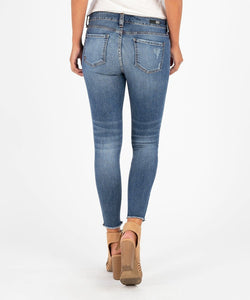 Connie Ankle Skinny Fray Hem