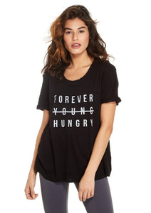 Devyn Rolled Sleeve Top - Forever Hungry