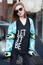 Load image into Gallery viewer, PREORDER Let it Be V-Neck T-Shirt
