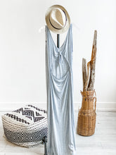 Load image into Gallery viewer, Ansel V-Neck Open Back Maxi Dress