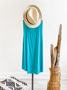 Solid Flowy Tank Top