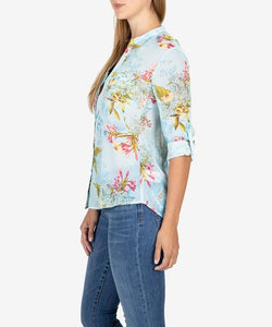 Jasmine Floral Blouse - More Colors Available