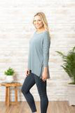 Load image into Gallery viewer, 3/4 Skinny Stripe Dolman