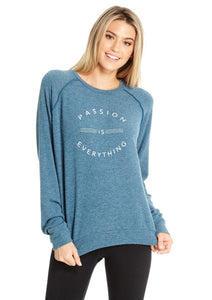 Mary Beth Long Sleeve Pullover / Passion is Everything Sweatshirt