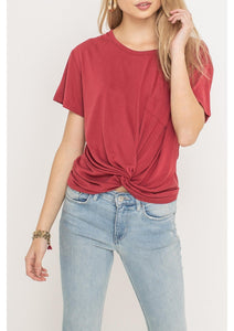 Ruby Front Crop Top