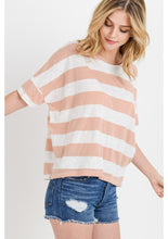 Load image into Gallery viewer, A Pink Boxy Jersey Top