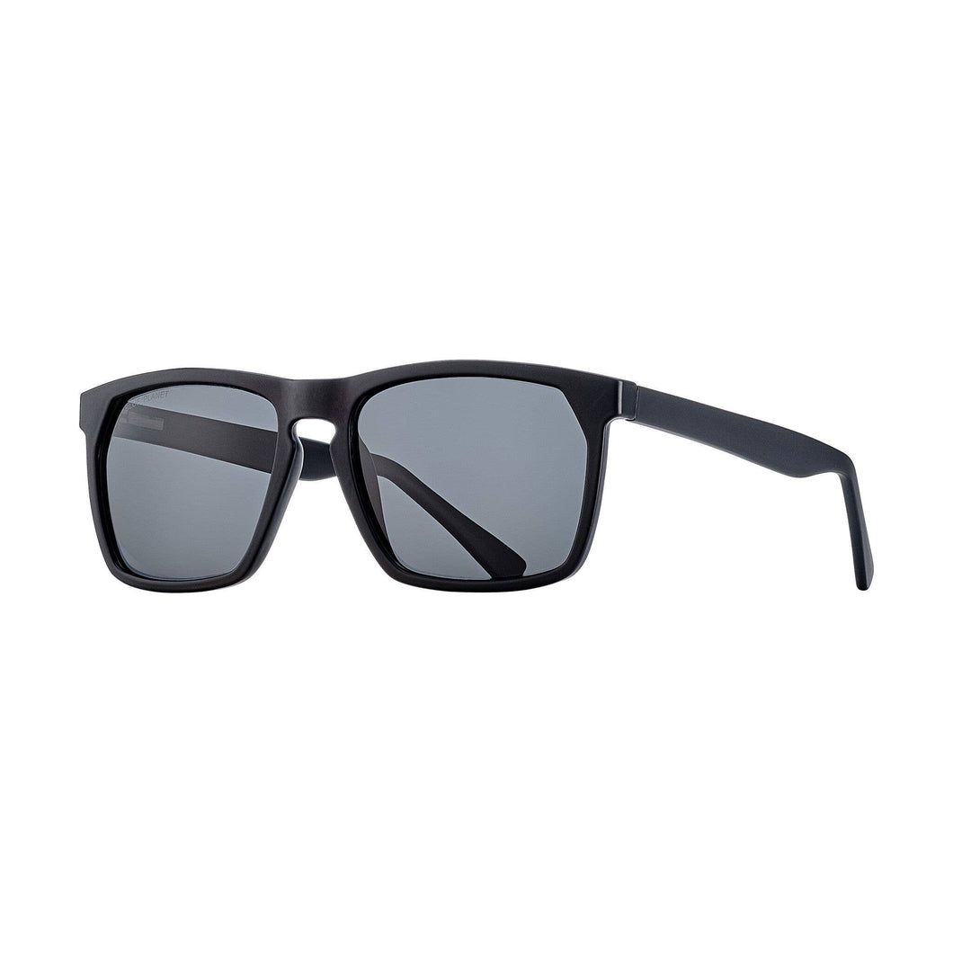 Blue Planet Eco-Eyewear - Randall - Matte Onyx / Smoke Polarized Lens