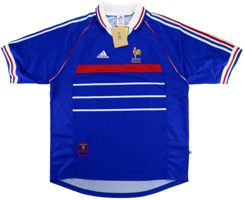 98 France Home Replica Jersey