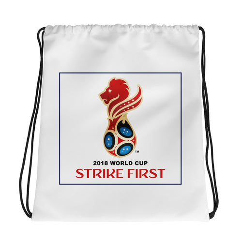 SF World Cup Emblem Drawstring Bag