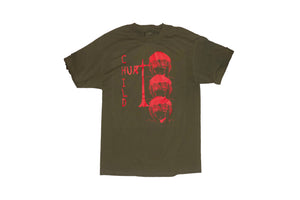 Hurt Child Olive T Shirt