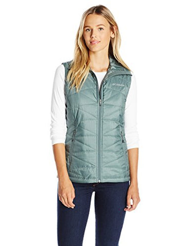 Columbia Women's Mighty Lite III Vest, Pond, Large