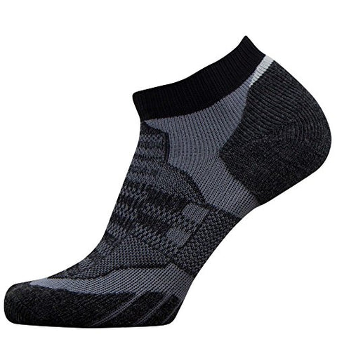 No-Show Wool Running Socks – Ultra-Light Merino Wool Athletic Socks, Trail Socks