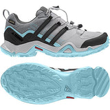 adidas Terrex Swift R GTX Shoe Women's Hiking 5 Grey-Utility Black-Clear Aqua