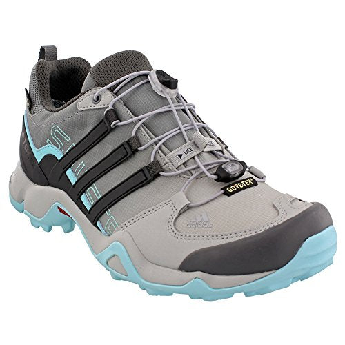 e3eb2b1905290 adidas Terrex Swift R GTX Shoe Women s Hiking 5 Grey-Utility Black-Clear  Aqua