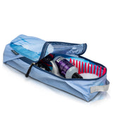 Graphic Packing Cubes Compression Set