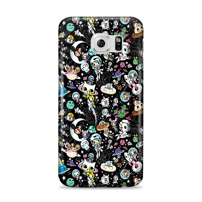 af324b29 Tokidoki Wallpaper Black Samsung Galaxy S6 Edge Plus Case | Zooocase