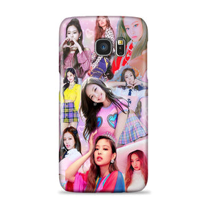 Blackpink Jennie Collage Wallpaper Samsung Galaxy S7 Case Zooocase