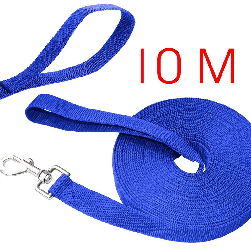10m*2.5cm Long Dog Puppy Pet Puppy Training Obedience Lead Leash